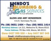 Hendo Plumbing and Gas