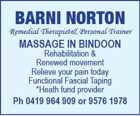 Massage.Barni