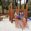 The children from Bullsbrook Playgroup enjoying the updated play equipment at Lowery Park, Bullsbrook