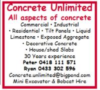 Concrete Unlimited