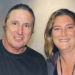 Tim Winton and Nahrel Dallywater. Photo by Rohit Holt