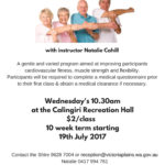 Seniors Only Exercise Class
