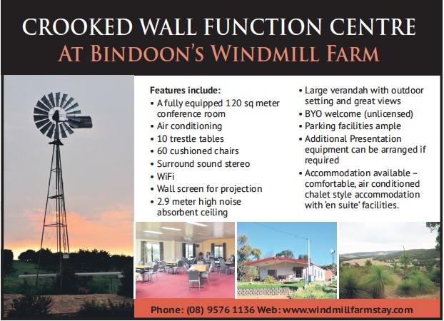 Crooked Wall Function Centre Bindoon
