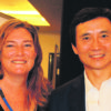 Nahrel Dallywater and Li Cunxin. at the Positive Schools Conference